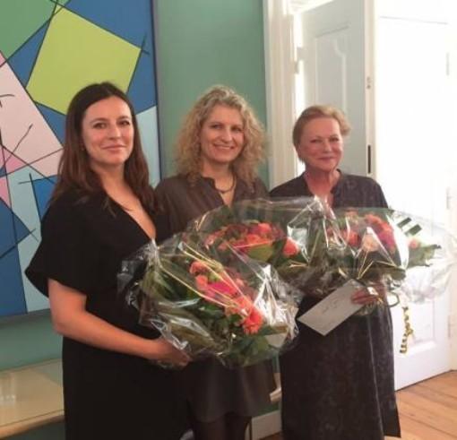 Som Niels-prismodtager (sammen med Maria Faust og Lisbet Dahl)