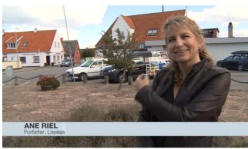 I TV2/Lorry .. med Liseleje Torv i baggrunden