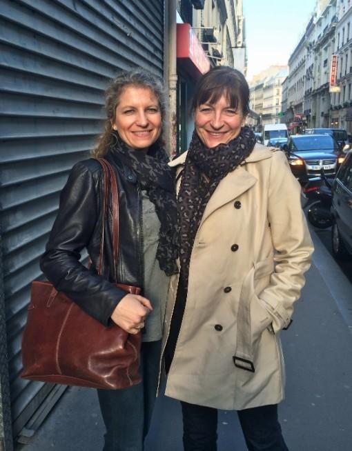 Med verdens bedste storesøster ... i Paris.