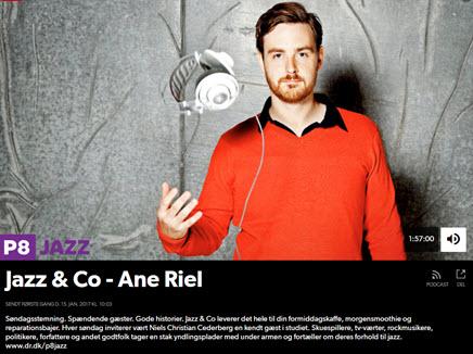 Ane Riel i Jazz & Co på DR P1