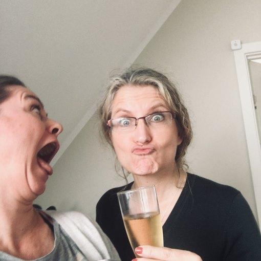 Webdesigner Rikke Ekelund og en beruset kunde