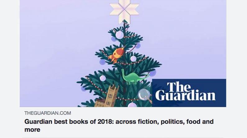 The Guardian vælger Harpiks som en af Årets Bedste Bøger