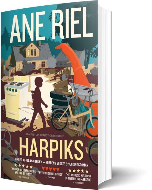 Romanen Harpiks af Ane Riel