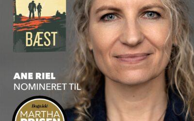 BÆST nomineret til MARTHA PRISEN / Danskerens Yndlingsforfatter 2020